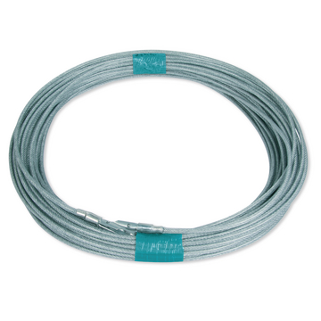 Cable TIR Ø6 mm, 40 m + terminales